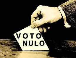 Cómo diferenciar entre un voto nulo, un voto en blanco y una abstención