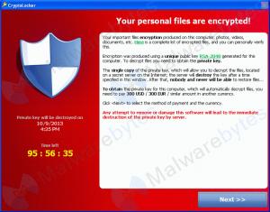 Cómo eliminar Ransomware Cryptolocker