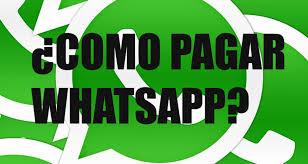 Cómo pagar Whatsapp
